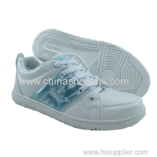 Best lady skateboard shoes sneakers active sport shoes in rubber sole supplier