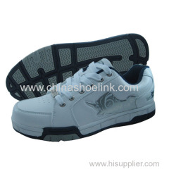 Best men skateboard shoes badminton shoes manufactor