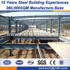 steelframing pre engineering construction ISO certification