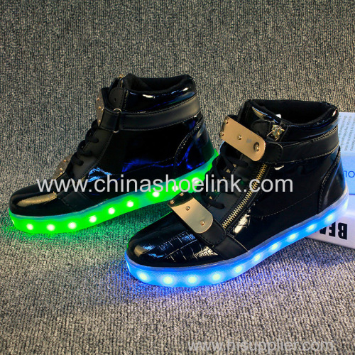 Charging Shoes China Ankle boots mid-cut skateboard shoes supplier
