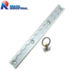 Aluminum Surface Mount L Track Kit with Stud Fitting