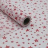 flowers printed normal non-woven packaging