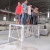 4x8ft Aluminum Stage Capaciting Testing
