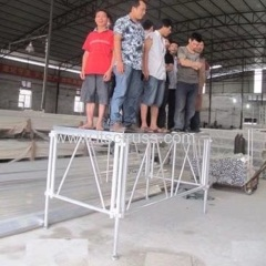 Testing the Aluminum Stage Capacity