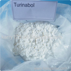 Turinabol / 4-Chlorodehydromethyltesto sterone Test Raw Powder