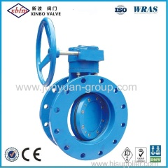Double Flange Centreline Butterfly Valve
