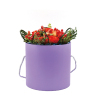round flower bucket flower shop supplies