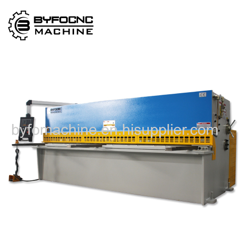 CNC Stainless Steel Sheet hydraulic shearing machine