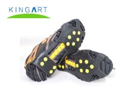 Winter snow ice anti-slip shoe crampons for outdoor climbing and safety hiking