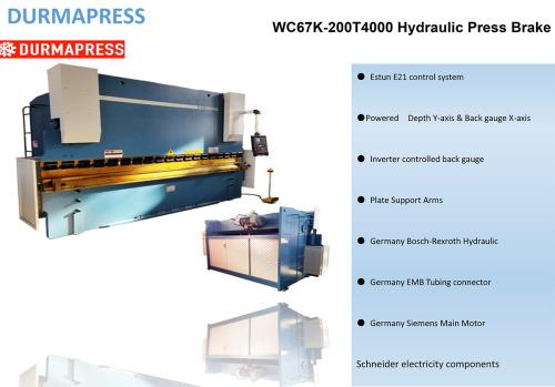 serviceable cnc press brake