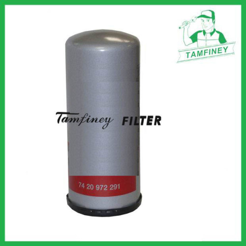 Fuel filter for renault trucks 7420972291 7420875666 20405160 20972293 21145173 20972295 33721 WDK11102/11