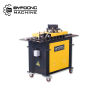 Hot selling hvac air rectangular pipe pittsburgh lock forming machine for hot sale