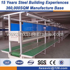stell frame pre engineered building systems good vibration performance