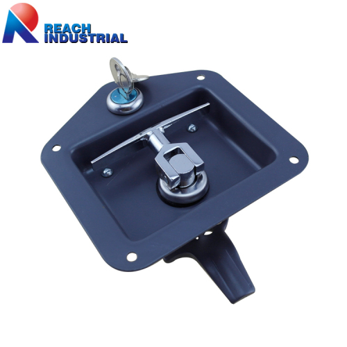 Key-Locking Recessd Handle T Lock