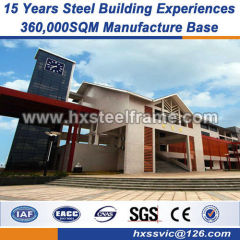 structural steel erection prefabricated building components multi-floor