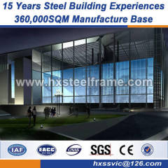 structural steel services building metal shed multi storey