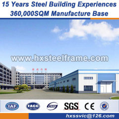 structural frame light steel structure environmentally-friendly