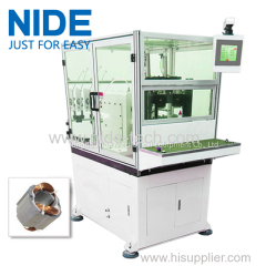 NIDE transformer stator coil winding machine for 2 poles stator winding
