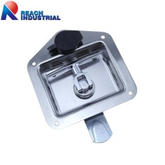 Key-Locking Recessed Folding T Handle