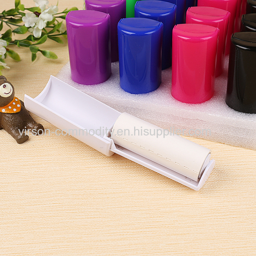 Foldable paper mini lint roller