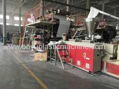 PVC LVT Floor tile machine