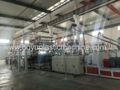 PVC Rigid Core Extrusion Line