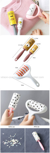 Pet hair remover lint roller/ lint remover roller for industrial