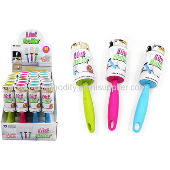 50sheets Tearable Custom Printed lint roller and Refills Set