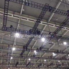 Aluminum Black Truss System Hanging