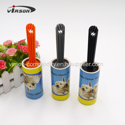 Adhesive Lint Roller with different type handle