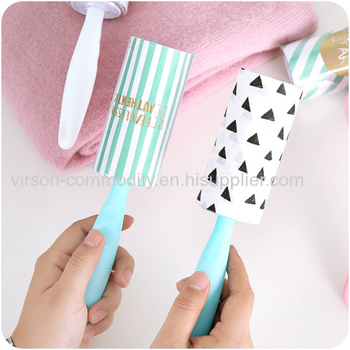 Lint Roller Remover with Custom Design Adhesive Tap