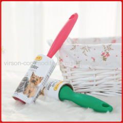Good Quality Plastic Pink And Green Disposible Lint Roller