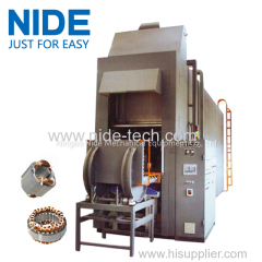 Stator varnish impregnation machine