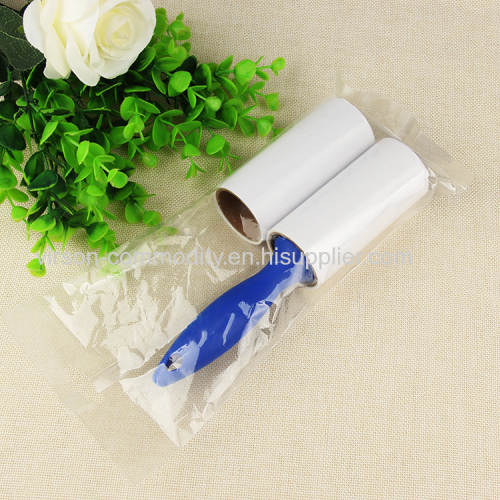 Blue Handle Stiacky Disposible Lint Roller