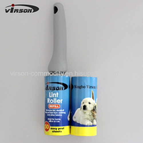 Extra Sticky Pet Hair Lint Roller with Refills