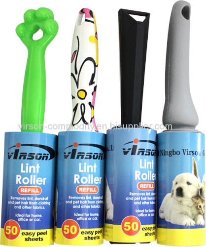 Sticky Disposible Manual Lint Roller