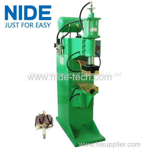 Wind Leaf rotor Spot Welder equipment fan armature fusing machine