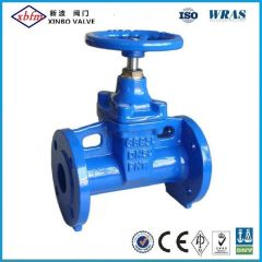 Non-Rising Stem Cast Iron Metal Seated Gate Valve DIN3352-F5
