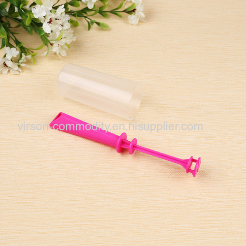 Vertical Carved Plastic Handle