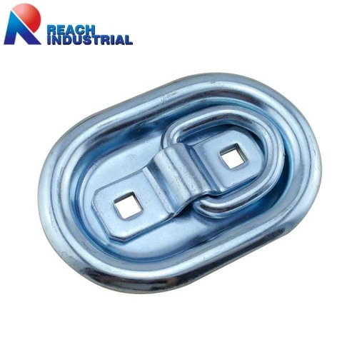 Recessed Mount Truck and Trailer Lashing D Ring