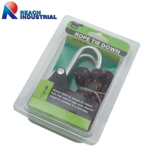 "1/4"" Pulley Mechanism Rope Ratchet Hangers"
