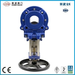 8 Inch Pneumatic Sewage Knife Gate Valve with En DIN