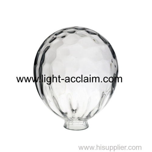 Colorful balloon glass shade