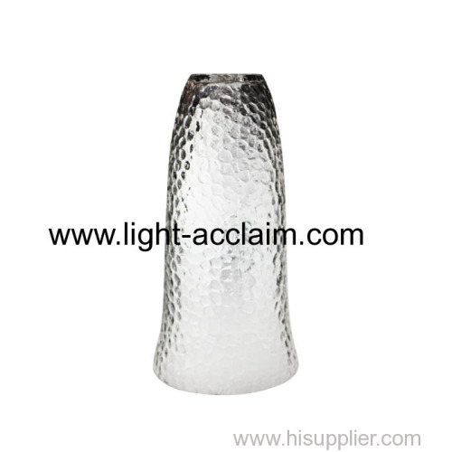 small chandelier for bedroom Transparent glass shade