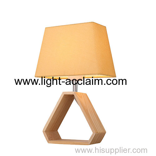 Wood table lamp contemporary table lamps bedside reading lamp floor lighting