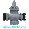Low Temperature Temperature of Gas Media and Hydraulic Power with Pressure Regulate Valve