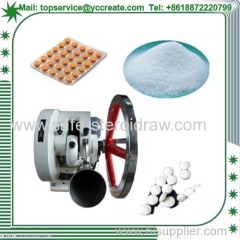 Medicine Powder Single Punch Pill Press Machine