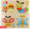 wooden toys Toy Gifts Wooden Puzzle Educational Developmental Baby Kids Training Toys