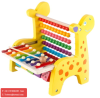 Baby Kid Musical Toys Xylophone Wisdom Development Wooden Instrument Rap Music