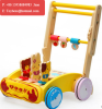 Toys Block and Roll Toddler Push & Pull Toy Walker Cart with Wooden Blocks